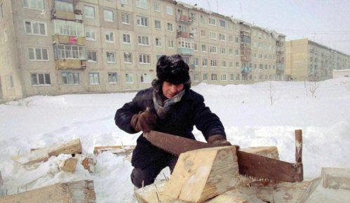 U sibirskom selu -62°C 10