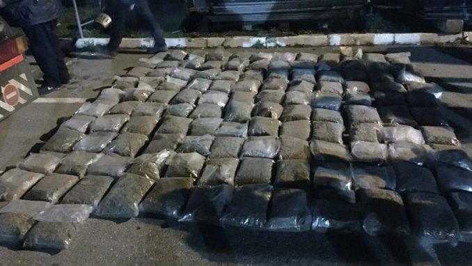 Zaplenjeno 340 kilograma marinuane na graničnom prelazu Batrovci 1