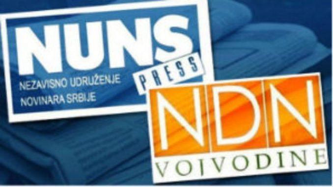 NUNS i NDNV: Državni funkcioneri da poštuju slobode novinara i medija 1