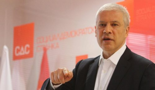 Tadić: Udaljavanje  Đurišića sa sednice pokazatelj sloma parlamentarizma 8