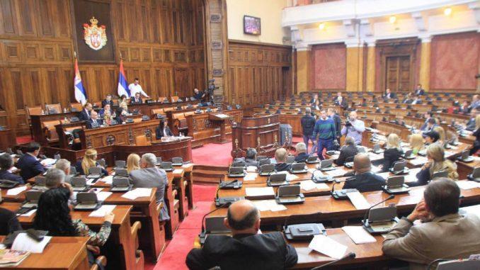 Namerna tišina u parlamentu do beogradskih izbora 4