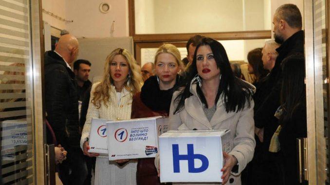 Udruženja osoba sa invaliditetom prikupljaju glasače SNS 1