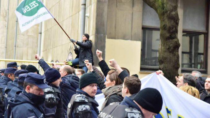 Policija ignorisala zakon o zabrani fašističkih simbola 1