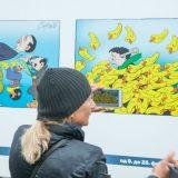U subotu poslednjih dan izložbe Koraksovih karikatura 3
