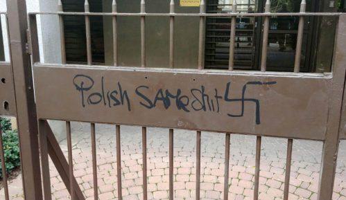 """""""Svastike"""" na poljskoj ambasadi u Izraelu 15"""