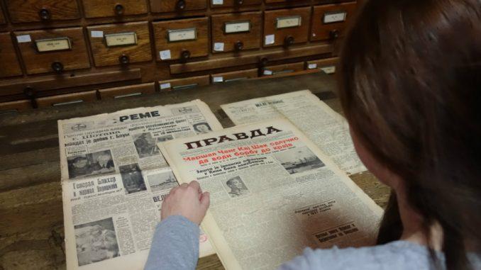 Šta je Musolini rekao srpskom novinaru 1938. godine? 1