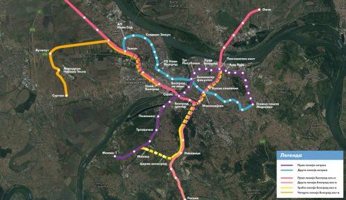 Mali: Prva linija beogradskog metroa do 2022. 1