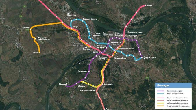 Potpisan Memorandum o razumevanju za projekat Beogradski metro 4
