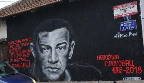 Mural posvećen glumcu Nebojši Glogovcu u Užicu 8