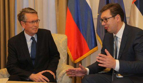 Čepurin preneo Vučiću Putinove čestitke za Dan državnosti 7