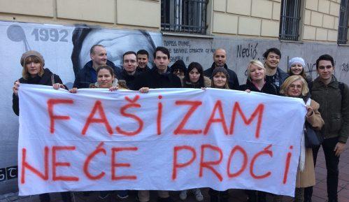 Protest protiv rehabilitacije fašizma (VIDEO) 7