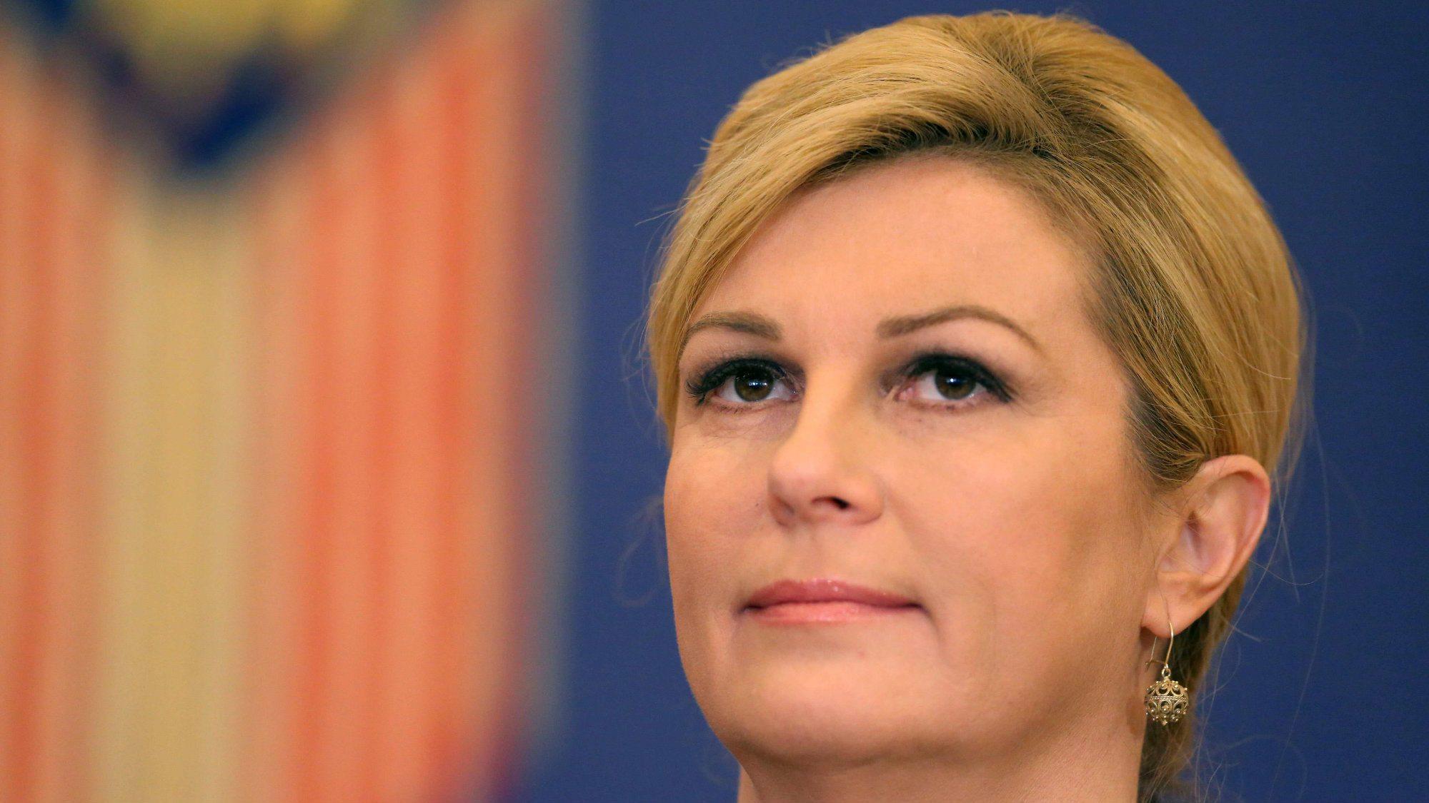 """Grabar Kitarović: Pogrešila sam, """"Za dom spremni"""" nije stari hrvatski pozdrav 1"""