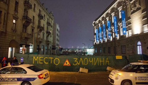 Priveden aktivista Ne davimo Beograd 6