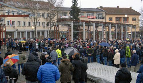 Protest u Požegi zbog trgovine uticajem predsednice skupštine 9