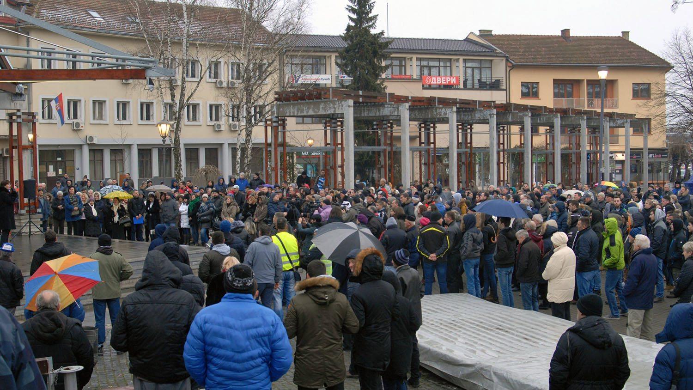 Protest u Požegi zbog trgovine uticajem predsednice skupštine 1