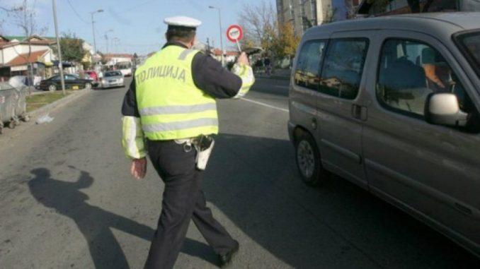 Napadnut policajac kod Lazarevca 1