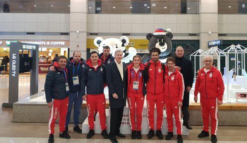 Olimpijski tim stigao u Južnu Koreju 10