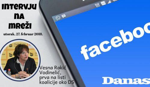 Rakić Vodinelić 27. februara odgovara na Fejsbuku 14