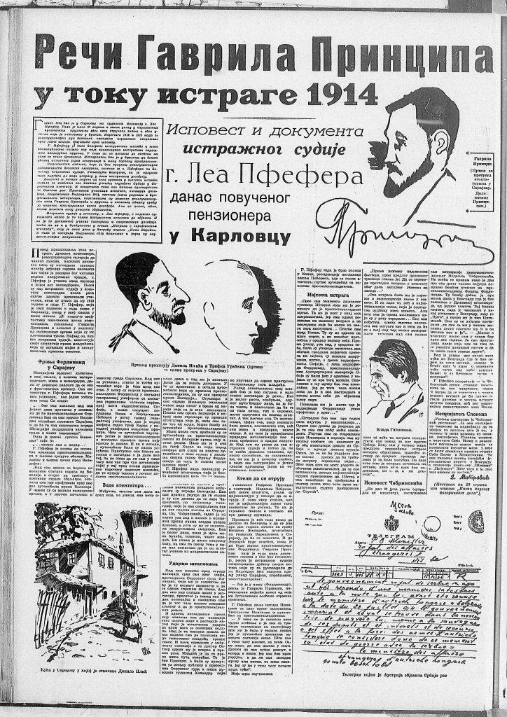 Ispovest sudije u slučaju Gavrila Principa od pre 80 godina 3