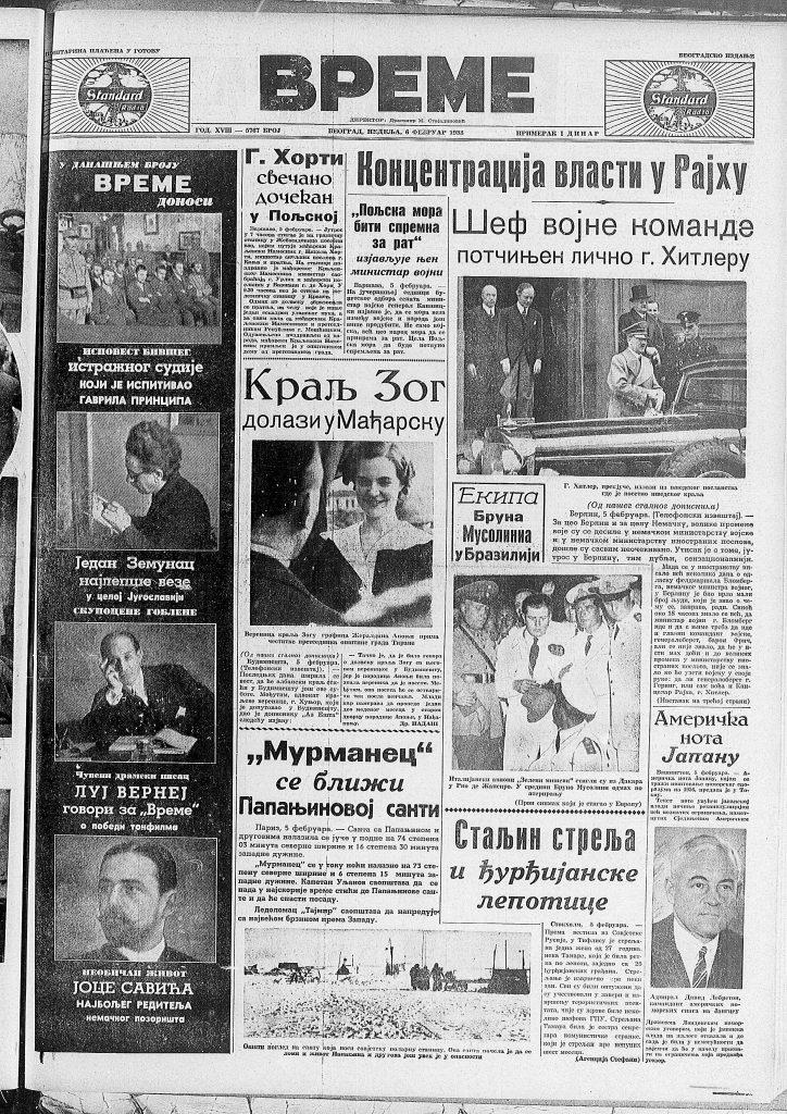 Ispovest sudije u slučaju Gavrila Principa od pre 80 godina 2