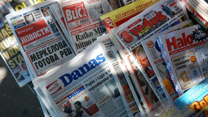 Vlast pokušava da izjednači tabloide sa ozbiljnim medijima 3