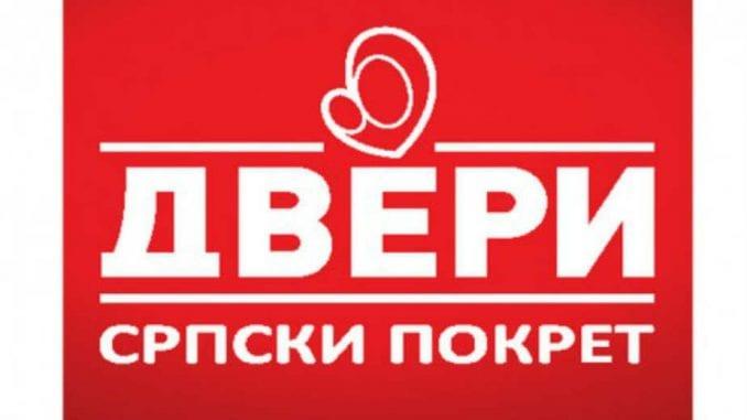 Dveri: Blokada raskrsnice kao vid građanske neposlušnosti i upozorenja vlastima 2