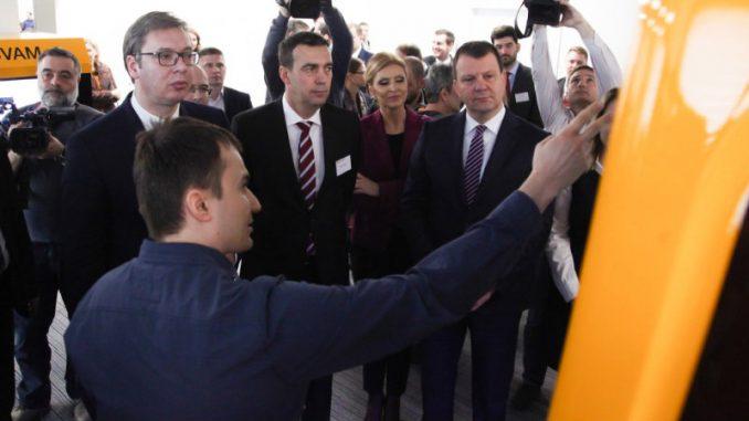 Vučić: Otvaranje kompanije Kontinental za Srbiju skok u vis 1