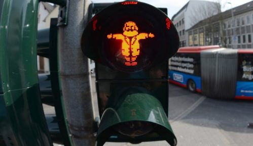 Nemački grad postavio semafore sa Marksovim likom 6