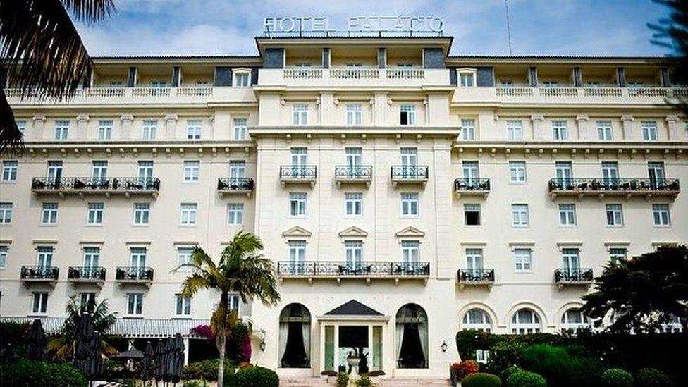 Hotel Palasio, Estoril, Portugal