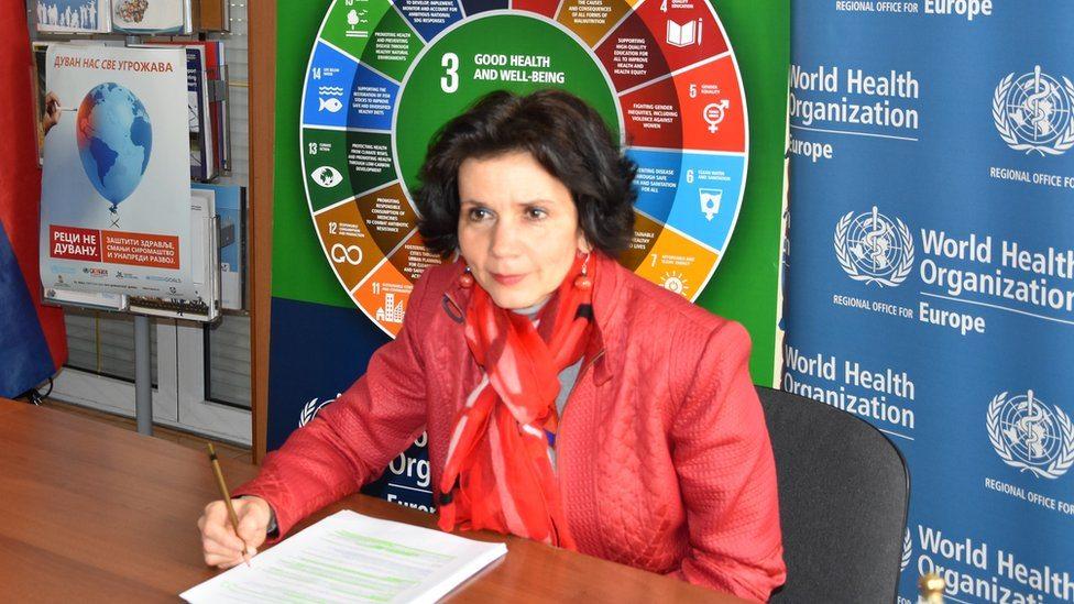 Doktorka Žofija Pustai, predstavnica Svetske zdravstvene organizacije u Srbiji