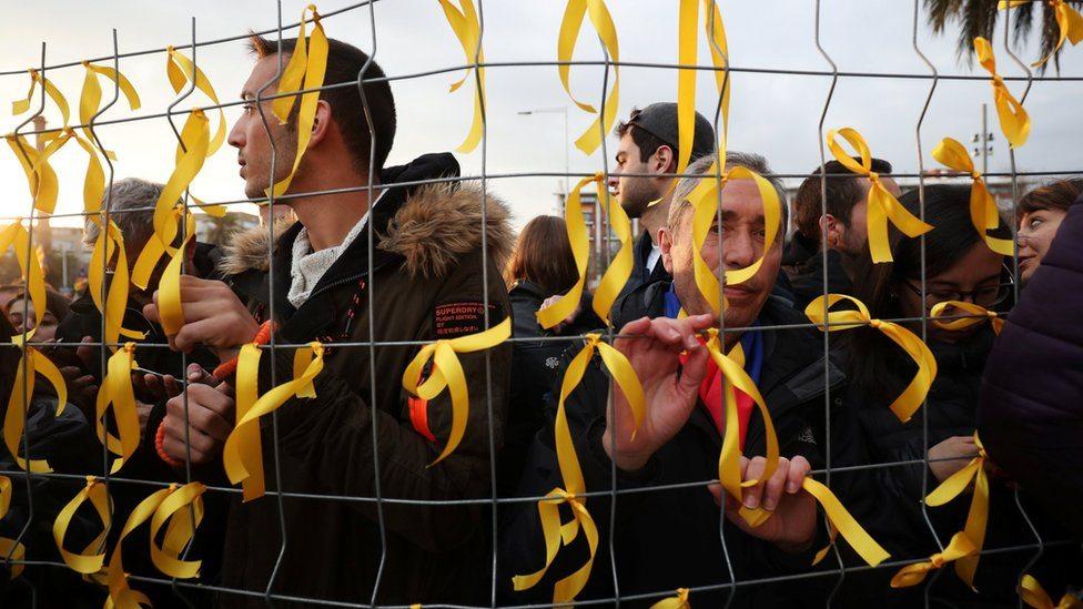 Demonstracije u Barseloni nakon hapšenja Karlesa Puđdemona