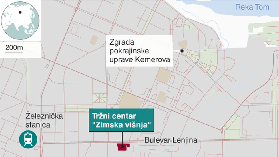 "Mapa oblasti oko tržnog centra ""Zimska višnja"""