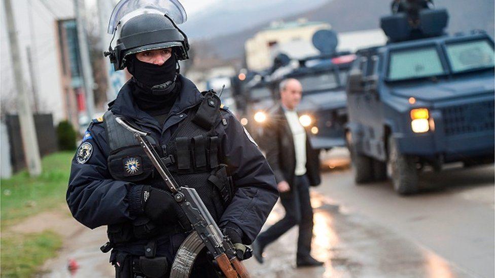 Kosovski specijalci u Mitrovici