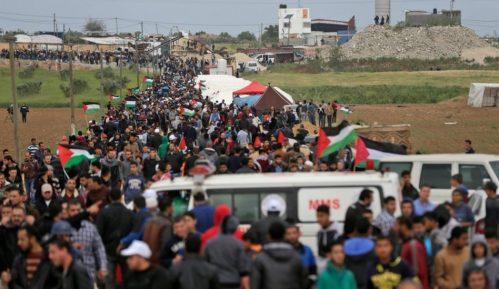 U sukobima na granici Gaze i Izraela ima mrtvih i ranjenih 11