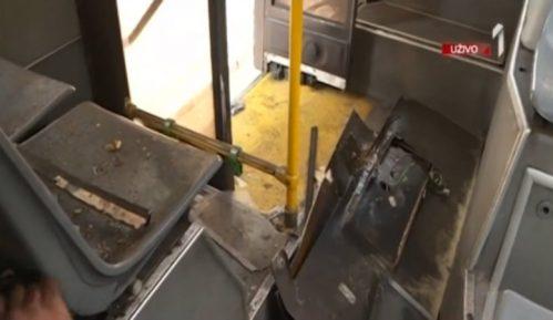 Eksplozija u autobusu na liniji 45, povređena žena 4