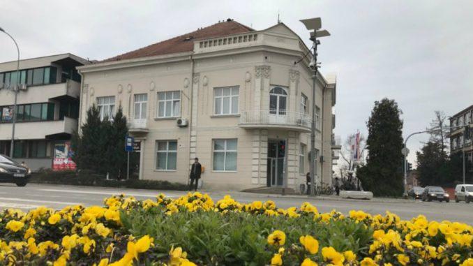 Zgrada opštine Inđija sagrađena 1914. godine 1