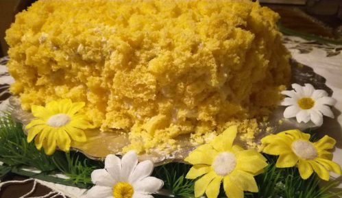 Torta Mimoza (recept) 12