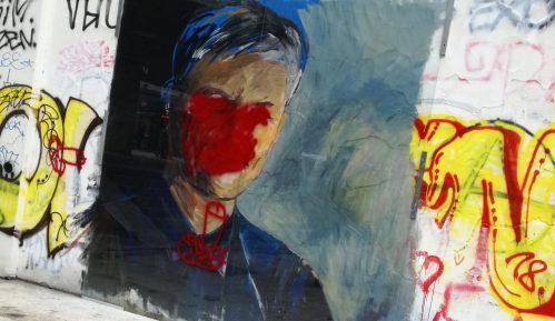 Ponovo oskrnavljen mural Đinđiću na Studentskom trgu 13