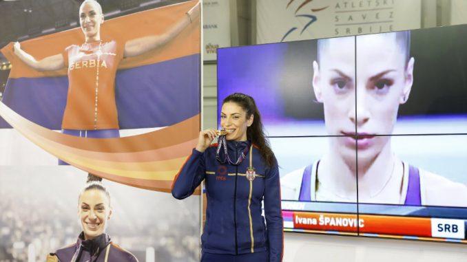 Španović: Bila bih nezadovljna da nisam osvojila zlato 1