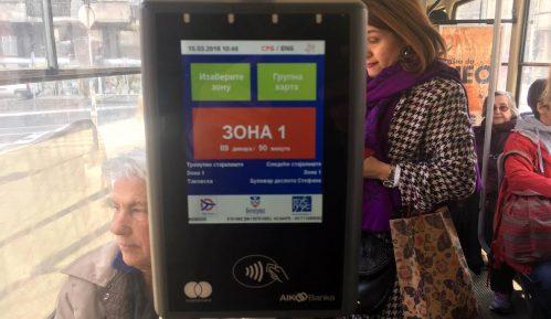 Busplus kartice za starije od 65 godina važiće tokom januara 1