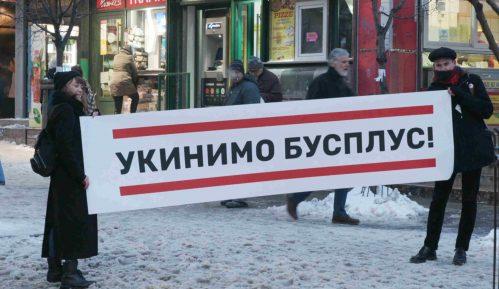 Inicijativa Ne davimo Beograd za ukidanje Bus Plusa 13
