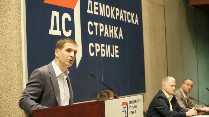 Jovanović: DSS raspustio sve stranačke odbore po Srbiji 1