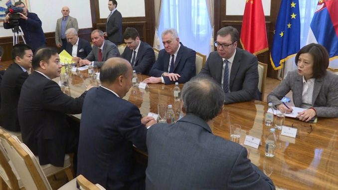 Vučić sa predstavnicima kineske kompanije zainteresovane za RTB Bor 2