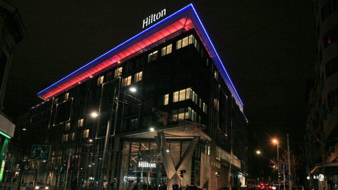 Eksplozija u hotelu Hilton u Beogradu 1
