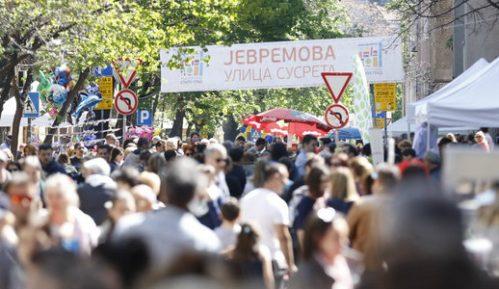 Ulica susreta u Jevremovoj 1. aprila 1