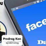 Epidemiolog Kon 15. marta odgovara na Fejsbuku 14