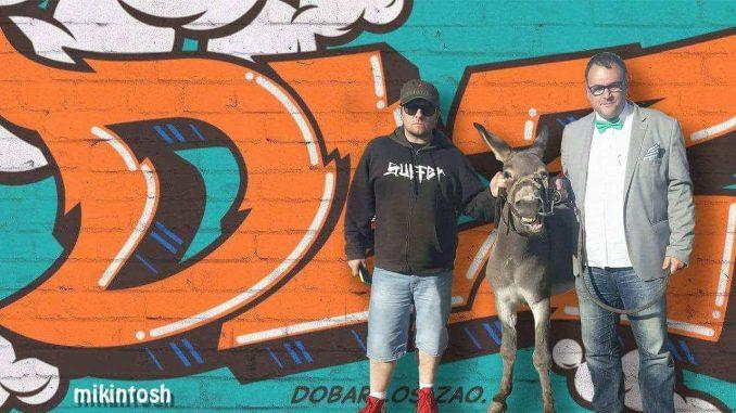 SNS: Fotomontaža predsednika sa magarcem - političko oružje 1