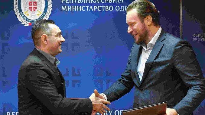 Potpisan Memorandum o saradnji između Vojske i AMSS 1