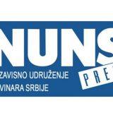 NUNS apelovao da se novinarima omogući bezbedno izveštavanje sa protesta 10