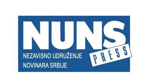 NUNS apelovao da se novinarima omogući bezbedno izveštavanje sa protesta 8